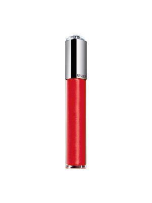 Помада-блеск для губ Ultra Hd Lip Lacquer,  Strawberry topaz 535 Revlon. Цвет: малиновый