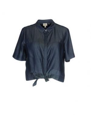 Джинсовая рубашка CHARLI. Цвет: синий