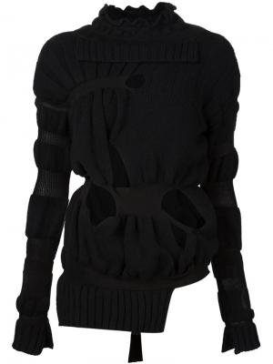 Cut-out sweater Helen Lawrence. Цвет: чёрный