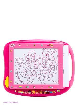 Игрушка Доска для рисования Winx Играем вместе. Цвет: розовый