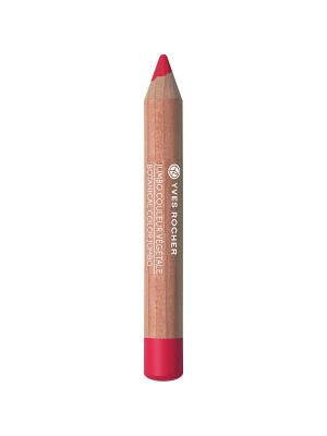 Тени-карандаш для век матовые 03 Алый Мак Yves Rocher. Цвет: красный