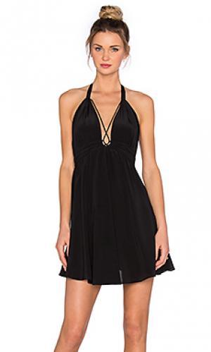 Мини платье cumin Rory Beca. Цвет: черный
