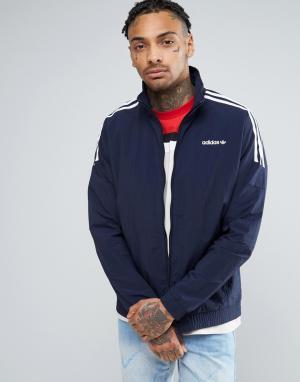 Adidas Originals Темно-синяя спортивная куртка BK5922. Цвет: темно-синий