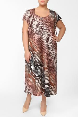 Платье Terra. Цвет: марсала