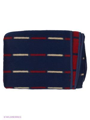 Одеяло Сукно. Цвет: коричневый, красный, белый
