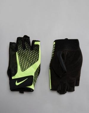 Nike Training Черные перчатки Core Locktraining 2.0. Цвет: черный