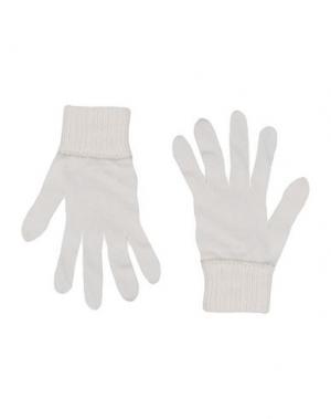 Перчатки BLUGIRL BLUMARINE. Цвет: белый