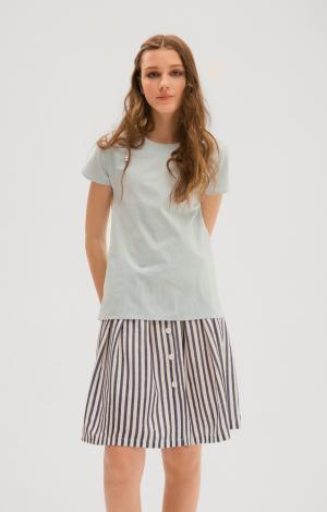 Блуза Голубая Trends Brands Base