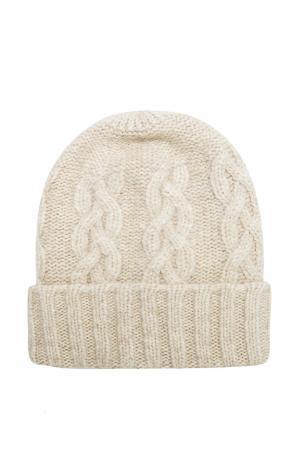 Шапка 136710 Sweet Sweaters. Цвет: бежевый