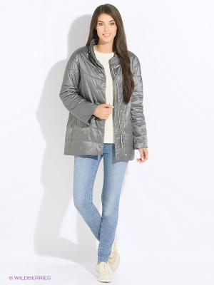 Куртка Snow Guard. Цвет: серый