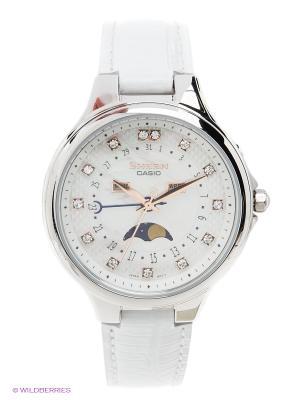 Часы Sheen SHE-3045L-7A CASIO. Цвет: белый