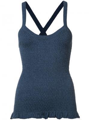 Knitted top Ulla Johnson. Цвет: синий