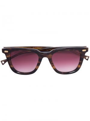 Wayfarer sunglasses Oamc. Цвет: коричневый