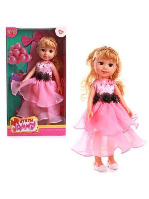 Кукла 31 см VELD-CO. Цвет: черный, розовый