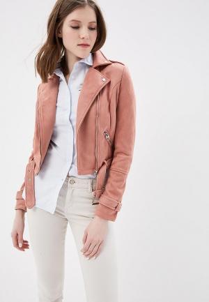 Куртка кожаная Urban Bliss. Цвет: розовый