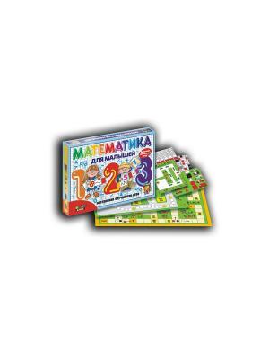 Тop Game. Настольно-развивающая игра Математика для малышей. TopGame. Цвет: белый, черный, коричневый