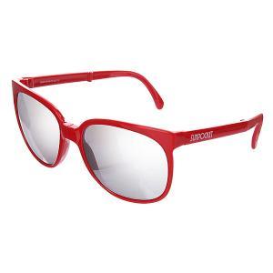 Очки женские  Sport Shiny Red Sunpocket. Цвет: красный