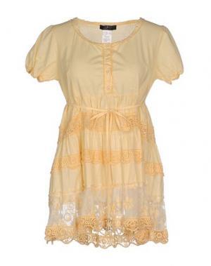Блузка JEI O'. Цвет: светло-желтый