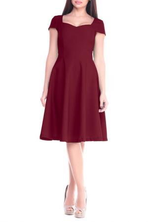Платье Dioni. Цвет: сливовый
