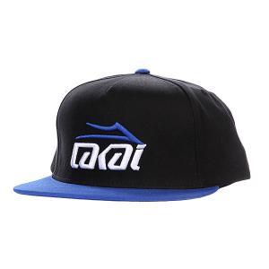 Бейсболка  Essential Black/Royal Lakai. Цвет: черный,синий