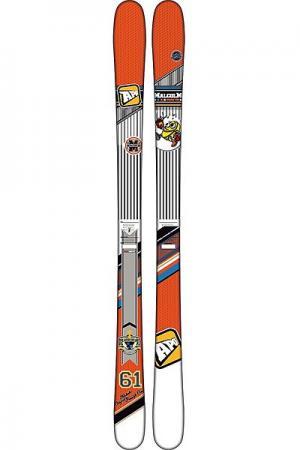 Горные лыжи  Malcom 161 Orange/White Apo. Цвет: оранжевый,белый,черный