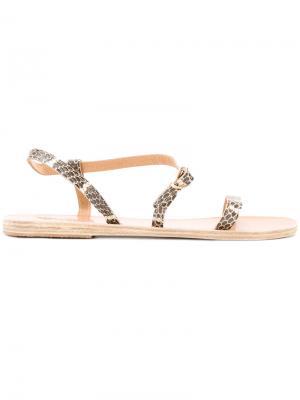 Сандалии Niove Ancient Greek Sandals. Цвет: серый