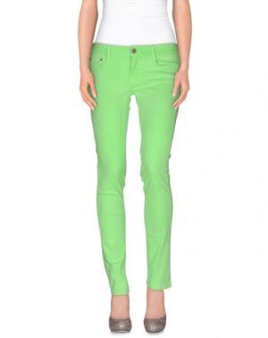 Повседневные брюки CIMARRON. Цвет: кислотно-зеленый