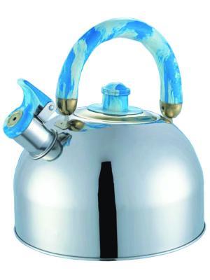 Чайник со свистком Bohmann BH-621. Цвет: синий