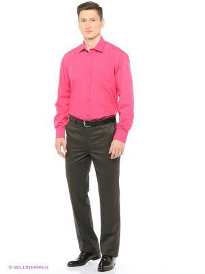 Рубашка мужская с длинным рукавом Mr. Marten. Цвет: малиновый