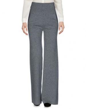 Повседневные брюки ORA. Цвет: серый