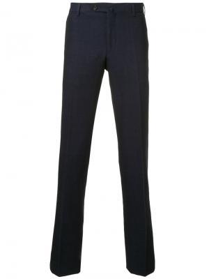 Классические брюки United Arrows. Цвет: розовый и фиолетовый