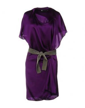 Короткое платье 6267. Цвет: фиолетовый