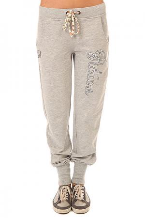 Штаны спортивные женские  Cocoon Grey Melange Picture Organic. Цвет: серый