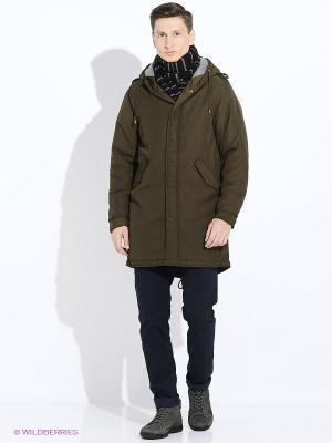 Куртка зимняя Camelot. Цвет: хаки