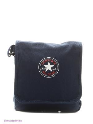 Сумка Small Flap Bag Converse. Цвет: синий
