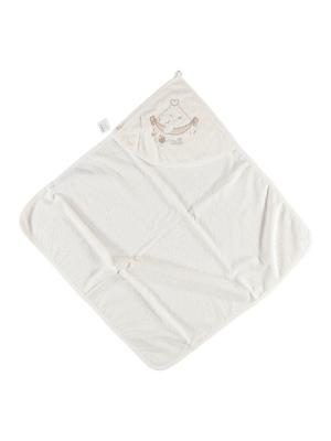 Детское полотенце Bi Baby. Цвет: кремовый