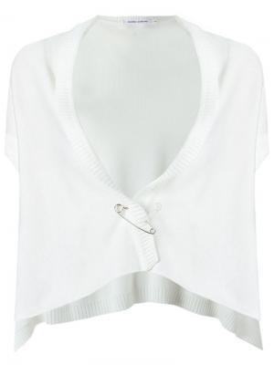 Knit waistcoat Gloria Coelho. Цвет: белый