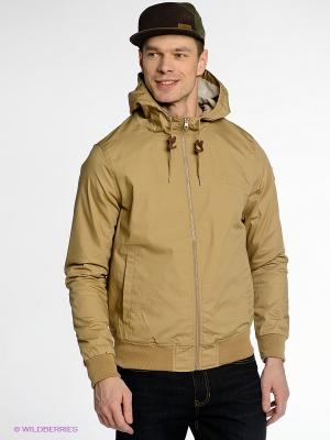 Куртка Element. Цвет: бежевый