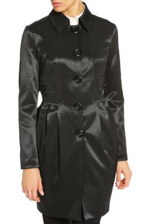Пальто Marlys Marly's. Цвет: черный