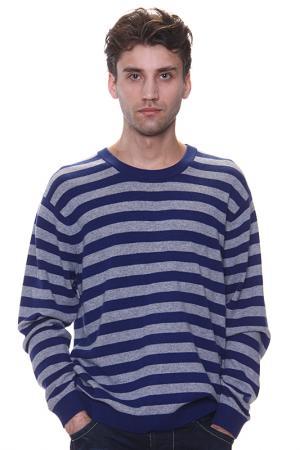 Джемпер в полоску Expression. Цвет: серый
