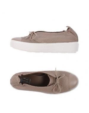 Обувь на шнурках LILIMILL. Цвет: светло-коричневый