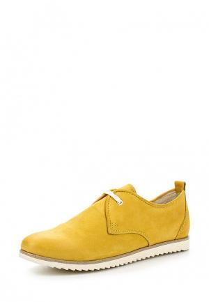 Ботинки Marco Tozzi. Цвет: желтый