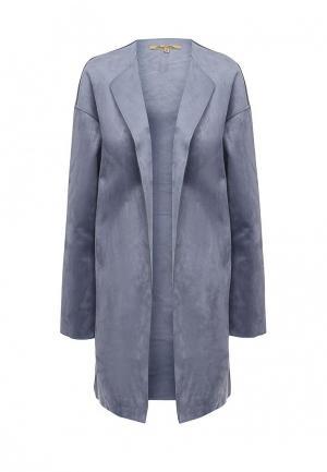Пальто Sweet Miss. Цвет: голубой