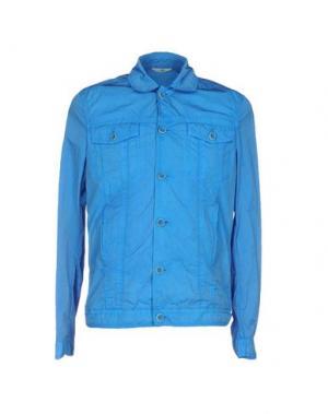 Куртка HEVÒ. Цвет: ярко-синий