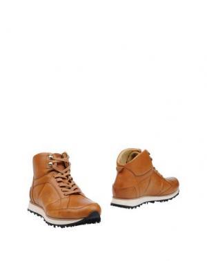 Полусапоги и высокие ботинки MR.HARE. Цвет: коричневый
