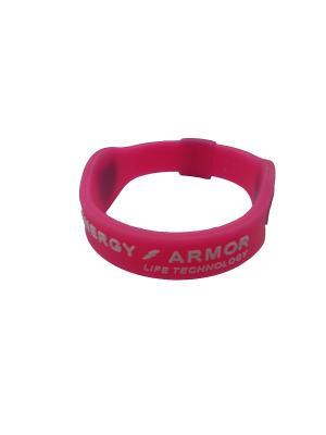 Браслет Energy Armor Pink/White Energyarmor. Цвет: розовый