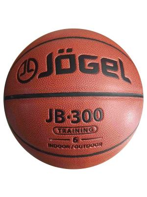 Мяч баскетбольный Jogel JB-300 №6. Цвет: коричневый