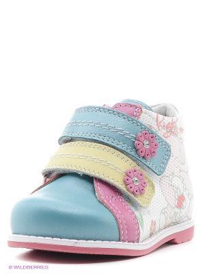 Ботинки ELEGAMI. Цвет: бирюзовый