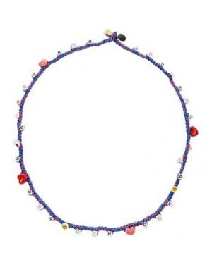 Ожерелье VENESSA ARIZAGA. Цвет: грифельно-синий