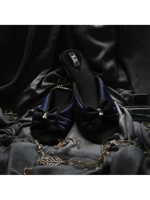Тапочки Petit Pas. Цвет: темно-синий